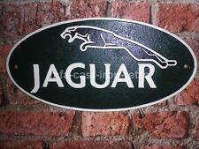 Cast Iron Small Jaguar Plaque