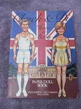 1982 Chuck & Di Have a Baby Princess Diana & Prince Charles Paper Doll Uncut
