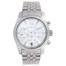 MICHAEL KORS Ladies Chronograph Silver Watch MK5555 RRP £259