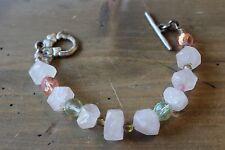 Silver Tone DANON Crystal Choker Bracelet