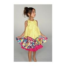 NWT ELIANE & LENA Paris RIBAMBELLE girl pink skirt sizes 5 6 10 12 style 43J03
