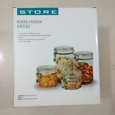 PLASTIC STORAGE CONTAINERS SETS IN SEVERAL SIZES