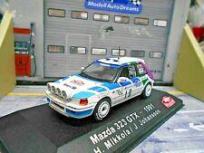 MAZDA 323 GTX Gr.A Rallye Monte Carlo 1991 #10 Mikkola Johanss IXO Altaya E 1:43