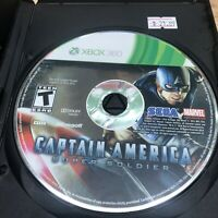 Captain America: Super Soldier Microsoft Xbox 360 2011 Disc Only *