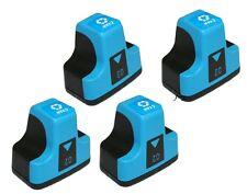 4 PK CYAN Ink Cartridge for HP 02 C8772WN Photosmart Printers High Quality
