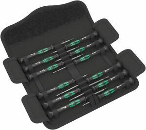Wera 05073675001 12 Piece Kraftform Micro-Set/12 SB 1 Screwdriver Set