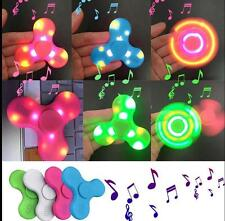 15x Bluetooth Speaker LED Fidget Spinner Hand Spinner Pair Phone Plays Music 12
