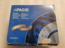 Pagid brake shoes ket for a Vauxhall corsa