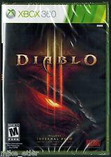 Diablo III (Xbox 360, 2013) Factory Sealed