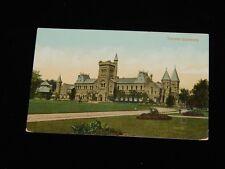 Vintage Postcard,TORONTO, ONTARIO, ON,CANADA,University Of Toronto Main Building