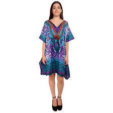 Boho Hippy Kaftan Plus Size Women Shirt Beach Coverup Women Caftan