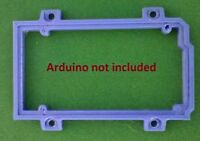 Arduino Mega 2560 Mount, Holder, Accessory - BLUE