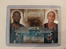 Stephen Curry & Tyreke Evans 2009 Panini Rookie & Stars Combos MINT #380/500
