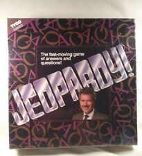 JEOPARDY 1992 Vintage TYCO Board Game Sealed Family Game Trivia