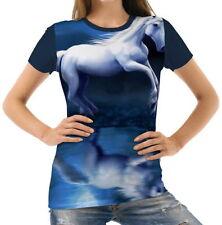 Normalgröße Einhorn Kurzarm Damen-T-Shirts