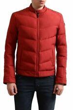 "Hugo Boss Orange ""Okonnor"" Men's Red Full Zip Parka Jacket US S IT 48"