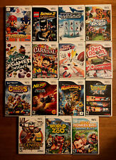 Lot of 15 Nintento Wii Video Games MARIO & SONIC Batman 2 WINTER SPORTS Party