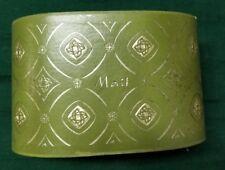 VINTAGE Mail Holder, green design