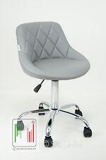 Stil Sedie poltrona studio ufficio casa cameretta ergonomica girevole ecopelle