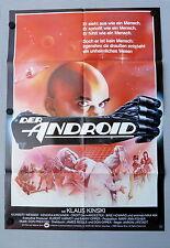 ANDROID * KLAUS KINSKI - A1-FILMPOSTER EA - German 1-Sheet 1983 SCI-FI