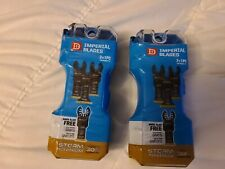 Lot Of 2 Imperial Blades 3 Packs Bonus One Fit Oscillating Tool Blades