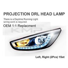 OEM Projection LED DRL Head Lamp LH+RH For HYUNDAI 2011-16 Accent Verna Solaris