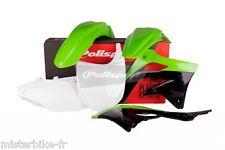 Kit plastiques Coque Polisport  Kawasaki KX450F   2012   Couleur:  Origine