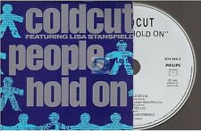 LISA STANSFIELD / COLDCUT people hold on CD SINGLE french card sleeve