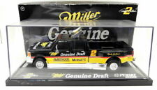 Action 1/24 Scale Diecast  WIN Miller Genuine Draft Ford F-150 Crew Cab + Case