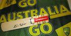 "Simon Katich (Australia) signed Gray Nicolls ""Rapier"" Mini Cricket Bat + COA"