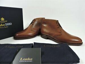 New Loake 1880 Men's Shoes Boots UK 10.5 US 11.5 EU 44.5 F Grained Chukka Boots