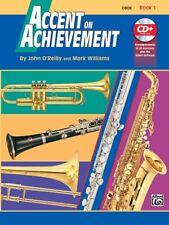 Accent On Achievement - Oboe Book 1