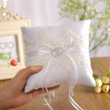 Square Shape Wedding Ornaments Ring Holder Cushion Valentine Engagement Supplies