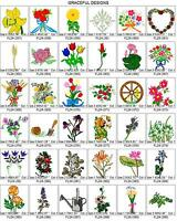 5,700 FLOWERS, TREES GARDEN BROTHER EMBROIDERY MACHINE DESIGN COLLECTION SET PES