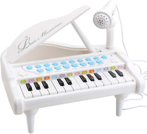 Amy&Benton Toy Piano for Baby Toddler Piano Keyboard Toy 1 2 3 Years Old Girls