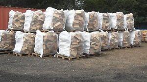 10 luftdurchlässige 1m³ Big Bag Säcke für Brennholz Scheitholz Kaminholz