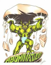 Abomination Color Commission art by Ron Lim Comic Art