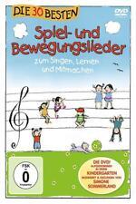 """DVD """"Die 30 Besten Spiel- & Bewegungslieder"""" (2011) von Die Kita Frösche,Karsten Glück, Simone Sommerland & Die Kita-Frösche,Karsten Glück,Simone Sommerland (2011)"""