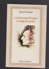 Le testament d'Orphée /le sang d'un poète par Jean Cocteau
