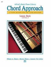Alfred's Basic Piano Chord Approach Lesson Book, Bk 2: A Piano Method for the La