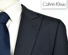 43R CALVIN KLEIN MENS WOOL BLEND PEAK LAPEL SUIT JACKET BLAZER