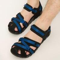 men's sport sandals adjustable velcro strap slippers