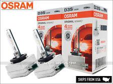 New! D3S OSRAM 4300K OEM HID XENON 66340 Bulbs 35W DOT w/ TRUST CODE | Pack of 2