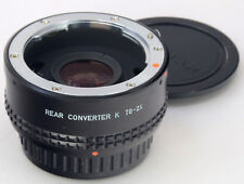 Pentax-M 2x Converter K T6 === Comme neuf ===