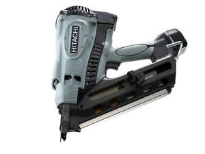 Hitachi/HiKOKI NR90GC2 Cordless Gas Clipped Head Framing Nailer New Lithium V...
