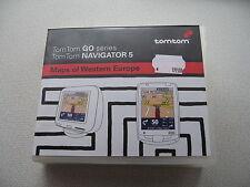 TomTom Westeuropäischen Kartenmaterial auf 7 CD,höchstens 1x benutzt ! d.h.Neuw.