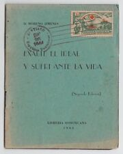 Dominikanische Rep. - Mi. 443, 80 Jahre Rotes Kreuz auf Heft, seltene Verwendung