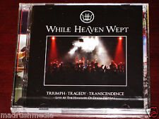 While Heaven Wept: Triumph Tragedy Transcendence Live CD + DVD Set 2010 Cruz NEW