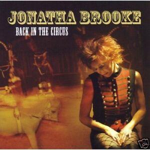 Jonatha Brooke - Back In The Circus (CD 2005) New