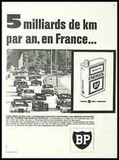 PUBLICITE  BP CITROEN 2 CV  MOTOR OIL  AD 1961